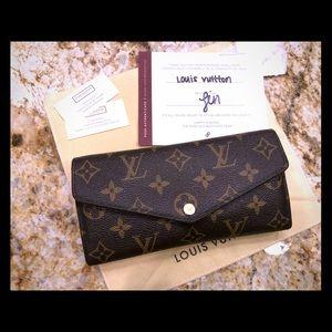 Louis Vuitton Sarah Wallet - 💯 authentic